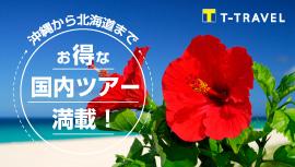 【国内】北海道から沖縄までお得な国内ツアー満載!